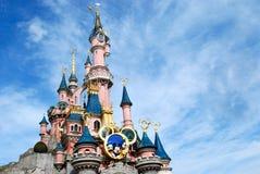 disney Παρίσι κάστρων Στοκ Φωτογραφίες