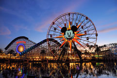 Disney affärsföretag Royaltyfri Bild