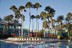 Disney All-star Sports Resort in Orlando. Disney All-star Sports Resort, one of resorts in Disney World Orlando, Florida, USA royalty free stock photos