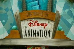 Disney-Animatieingang Stock Fotografie