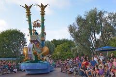 Disney aterra a parada Imagem de Stock