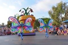 Disney aterra a parada Fotos de Stock