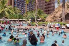 Disney Aulani Resort on Oahu Hawaii Stock Photos