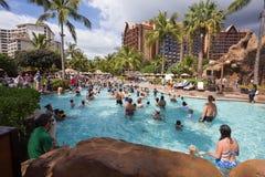 Disney Aulani Resort op Oahu Hawaï royalty-vrije stock foto