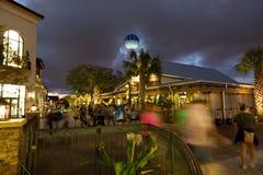 Disney balza notte di acquisto Fotografia Stock