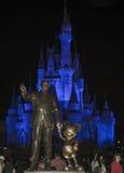 Disney Castle στο μαγικό βασίλειο Στοκ εικόνα με δικαίωμα ελεύθερης χρήσης