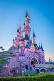 Disney Castle, Disneyland Paris, Paris, France, 18th April 2015 Royalty Free Stock Photo