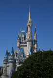 Disney Castle in Florida Stock Images