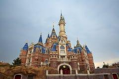 Disney castle, Shanghai royalty free stock photos