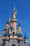 Disney Castle in Paris France Stock Image