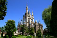 Disney Castle at Tokyo Disneyland Stock Image