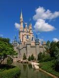 Disney Castle Walt Disney World. Walt Disney and Mickey Mouse in front of Cinderalla's Castle at Disney World in Orlando Florida Stock Photos