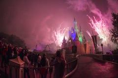 Disney Castle Walt Disney World - Orlando/FL Stock Images