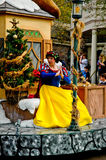 Disney Character Snow White in Holiday parade. Stock Images
