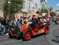 Disney characters stock photo
