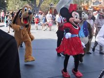 Disney charaters royaltyfri foto