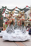 Disney Christmas Parade Royalty Free Stock Photos