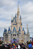 Disney Cinderella Castle Walt Disney World Royalty Free Stock Photo