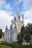 Disney Cinderella Castle Walt Disney World. Side View of Cinderella Castle at Walt Disney World in Orlando, Florida, USA Stock Photos