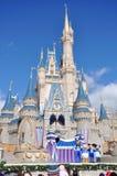 Disney Cinderella Castle Walt Disney World. Dream Along with Mickey show in Cinderella Castle at Walt Disney World in Orlando, Florida, USA Stock Image