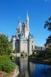 Disney Cinderella Castle Walt Disney World. Side View of Cinderella Castle at Walt Disney World in Orlando, Florida, USA Stock Images