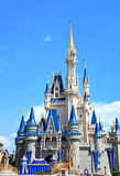 Disney Cinderella Castle Walt Disney World Stock Photo