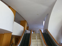 Disney Concert Hall California Interior Royalty Free Stock Image