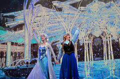 Disney congelé images stock