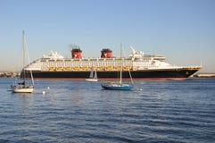 Disney Cruise Ship Stock Photo