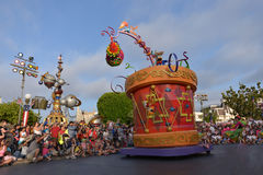 Disney débarquent le défilé illustration de vecteur