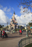 Disney débarquent, Paris, l'Europe Photos libres de droits