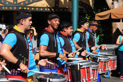 Disney défilent chez Disneyland Photos stock