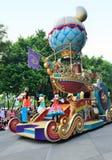 Disney défilent, Hong Kong Image stock