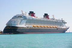 Disney dröm, en ny kryssningship Arkivbilder
