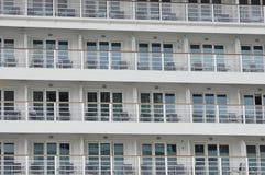 Disney Dream cruise ship balconies Royalty Free Stock Photography