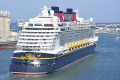 Disney Dream cruise ship Royalty Free Stock Images
