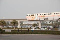 Disney-Einschienenbahn in Tokyo Disneyland stockbild
