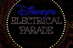 Disney Electrical Parade Stock Photo