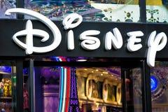 Disney entreposé à Paris Photos libres de droits