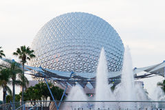 Disney Epcot. In the Evening Stock Photography