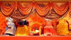 Disney fairy dress collection Royalty Free Stock Photo