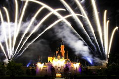 Disney Fireworks Stock Photography