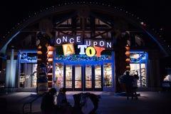 Disney fjädrar på Walt Disney World Royaltyfria Foton