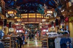 Disney fjädrar på Walt Disney World Royaltyfria Bilder