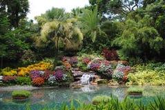 Disney Florida garden stock photography