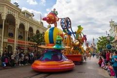 Disney gwiazdy na paradzie Obrazy Stock