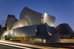 Disney hall Photos libres de droits