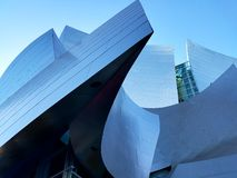 Disney  hall. Concert hall architecture design Stock Images