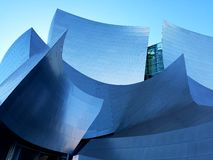Disney  hall. Concert hall architecture design Royalty Free Stock Images