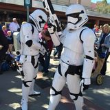 Disney Hollywood studiostoormtrooper Royaltyfria Foton